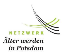 Logo des Netzwerks Älter werden in der Landeshauptstadt Potsdam